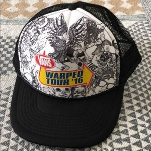Warped Tour 2016 Snap Back Hat